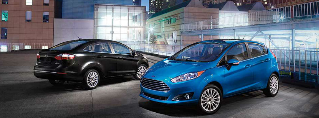 2016 Ford Fiesta Trim Levels And Color Options
