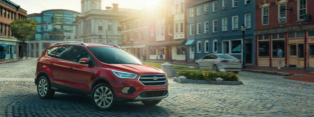 2017 Ford Escape in Red