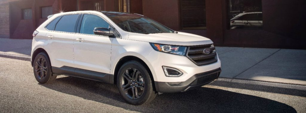 Toyota Oil Change Coupons >> Official Details for 2018 Ford Edge SEL Sport Appearance ...