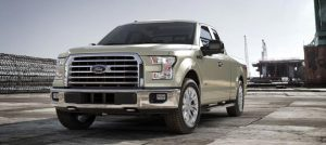 2017 Ford F-150 White Gold