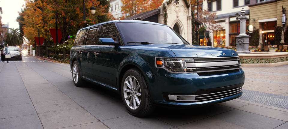 2017 ford flex blue jeans_o - western slope auto