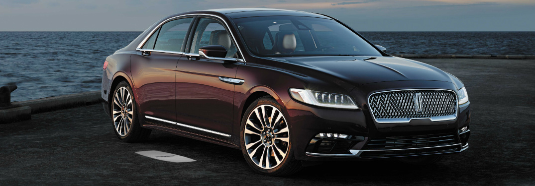 2017 Lincoln Continental IIHS Top Safety Pick+ Award