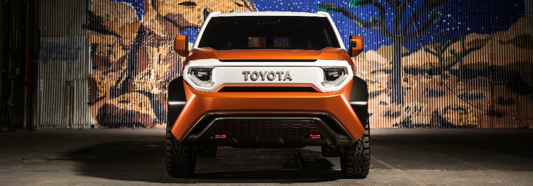 What is the Toyota FT-4X Concept?