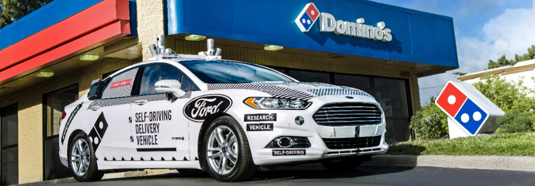 Ford to Use Self-Driving Vehicles for Domino's Pizza Delivery