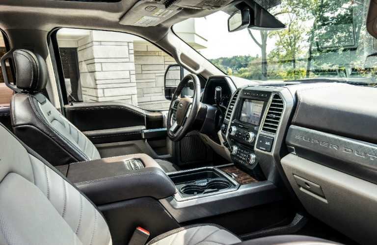 ford duty super series interior limited offer features does