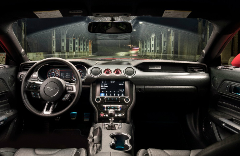Enjoy The Driving Excitement Of The Mustang Gts New Performance Pack  Ford Mustang Gt Performance Pack Level  Dashboard_o