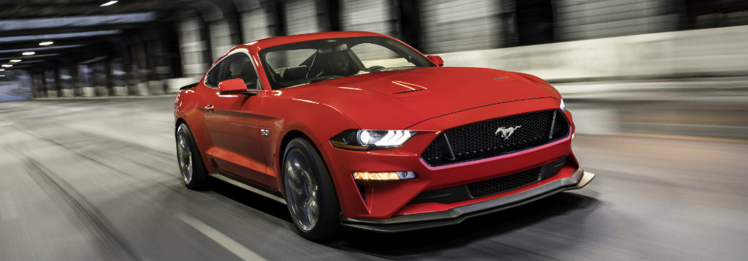 Front View of 2018 Mustang GT with Performance Pack Level 2