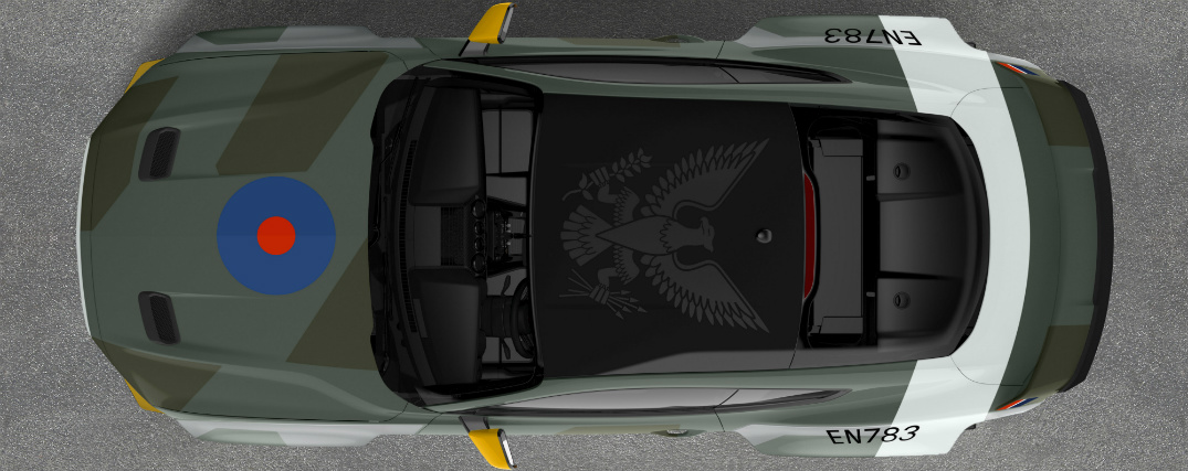 Ford Created a WWII Aircraft-themed Ford Mustang GT for Charity Auction