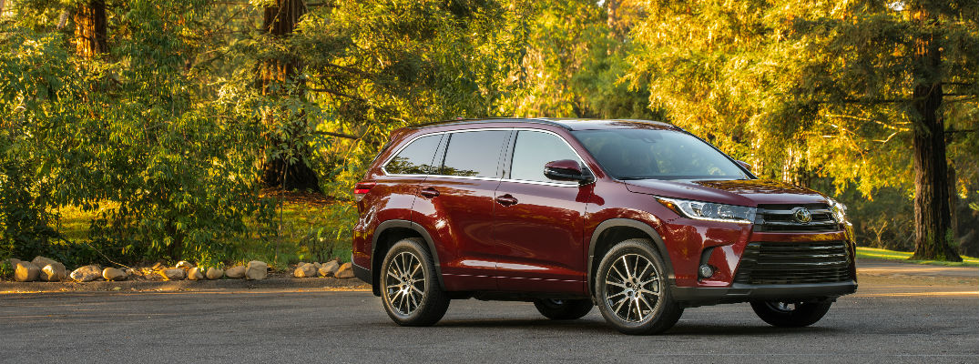 2017 toyota highlander exterior color options - Paint Color Options