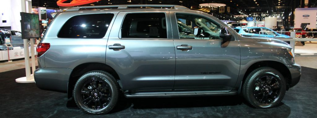 2018 toyota sequoia trd sport images from chicago auto show. Black Bedroom Furniture Sets. Home Design Ideas