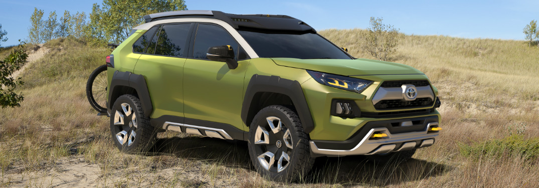What is the Future Toyota Adventure Concept (FT-AC)?