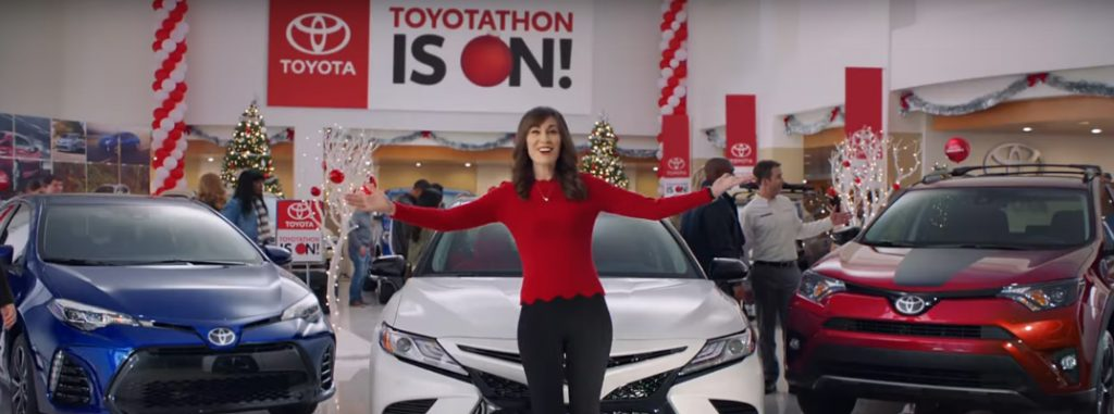 Watch These Festive 2017 Toyotathon Holiday Commercials