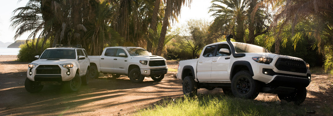 Toyota Unveils 2019 TRD Pro Off-Road Models at the Chicago Auto Show