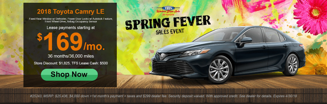 Details For 2018 Toyota Camry Le Lease Special And Grey