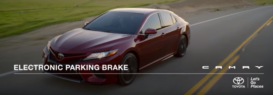How to Use the Toyota Camry Electronic Parking Brake & Brake Hold