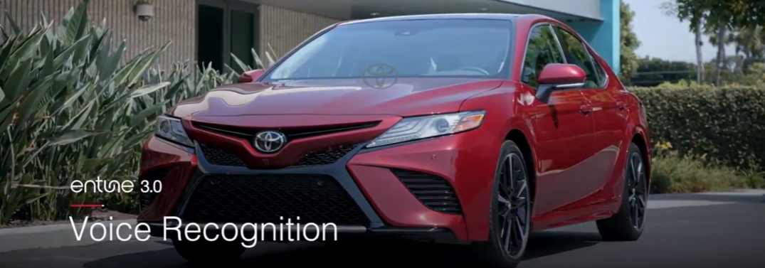 How to Use Voice Recognition for the Toyota Entune 3.0 System