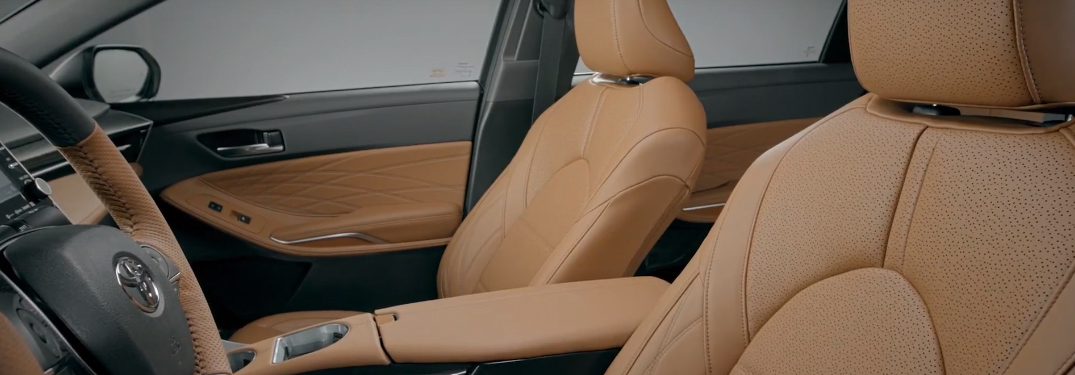 Side View of the Interior of 2019 Toyota Avalon