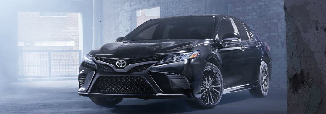 Front View of 2019 Toyota Camry Nightshade Special Edition