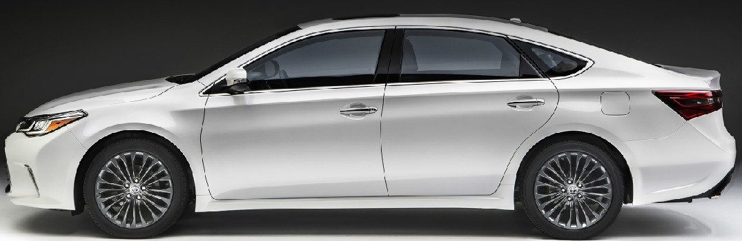 What's new on the 2016 Toyota Avalon?