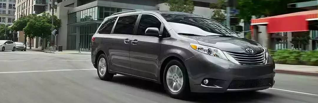 2016 Toyota Sienna Color Options