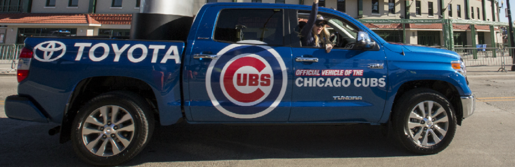 Toyota Tundra Featured During Chicago Cubs Victory Parade