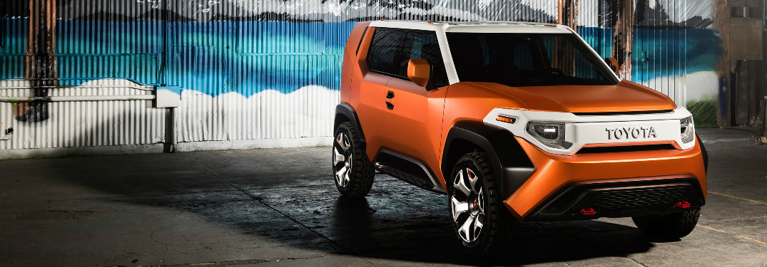 Toyota FT-4X Concept exterior front side view