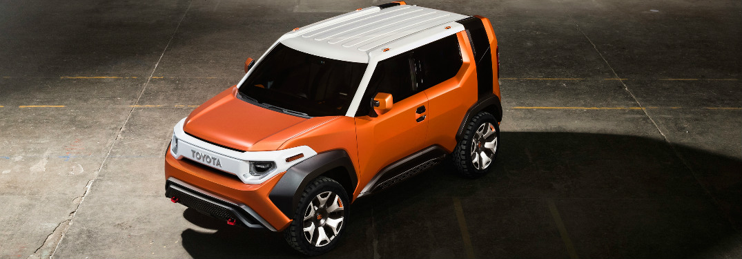 Toyota FT-4X Concept exterior front top view