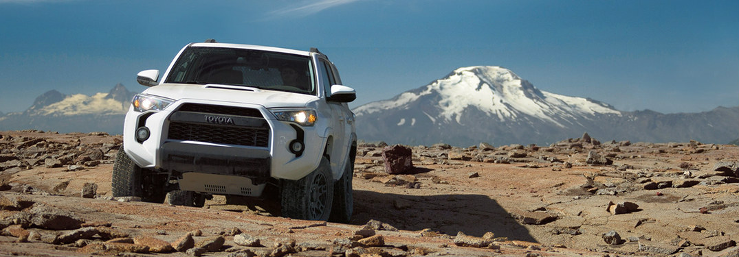 2018 toyota 4runner. wonderful 2018 white 2018 toyota 4runner parked in front of mountains in toyota 4runner