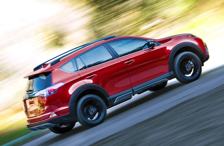 2018 Toyota RAV4 Adventure Climbing A Hill MPG Ratings By Model