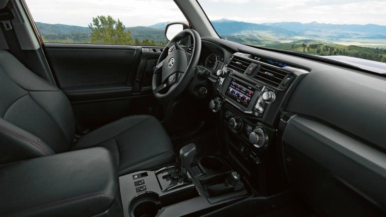 2018 Toyota 4Runner TRD Pro dashboard