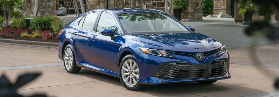 2018 Toyota Camry Exterior Passenger Side Front
