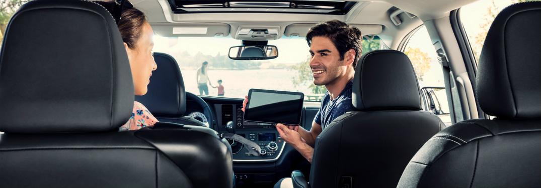 2018 toyota sienna xle rear entertainment system
