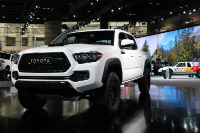 What Colors Are Available For The 2019 Toyota Trd Pro Models