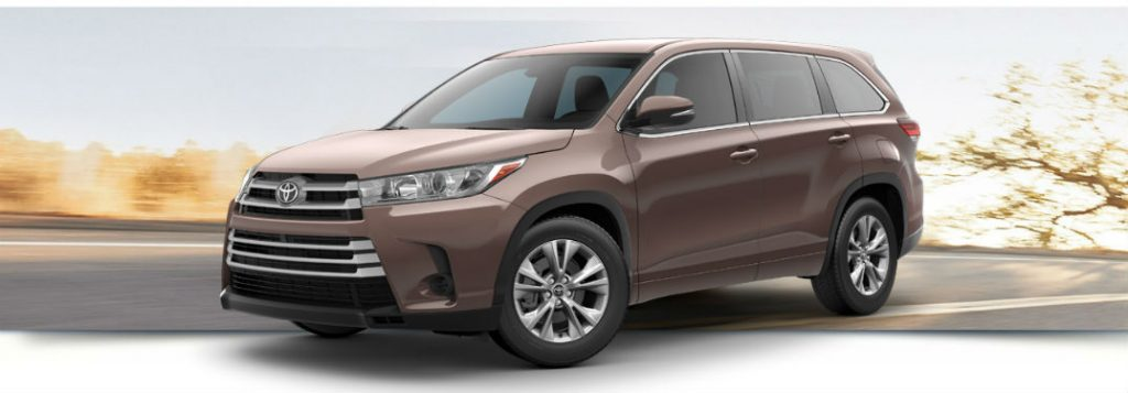 Toyota Rav4 Le Vs Xle >> 2018 Toyota Highlander trim level comparison LE XLE & Limited