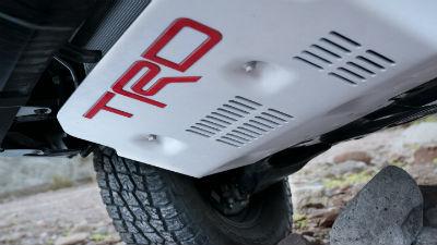 2019 Toyota TRD Pro skid plate