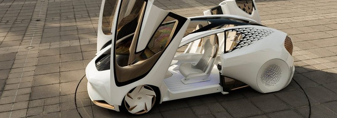 toyota concept-i with doors open