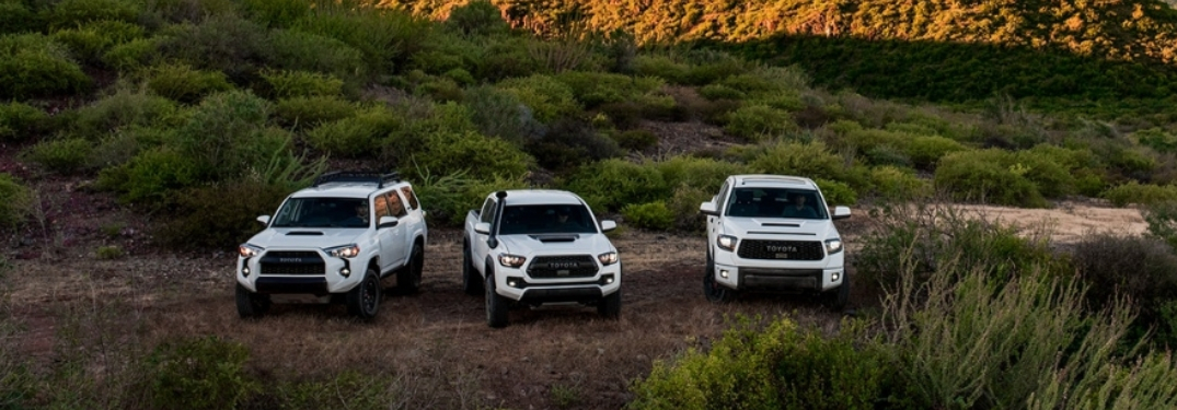 What two Toyota vehicles are being added to the TRD family?
