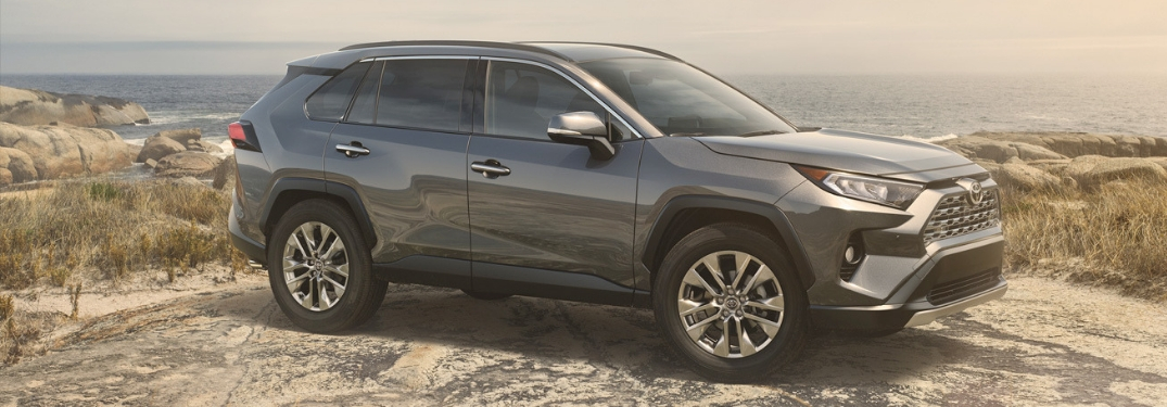 2019 Toyota RAV4 Interior and Exterior Features