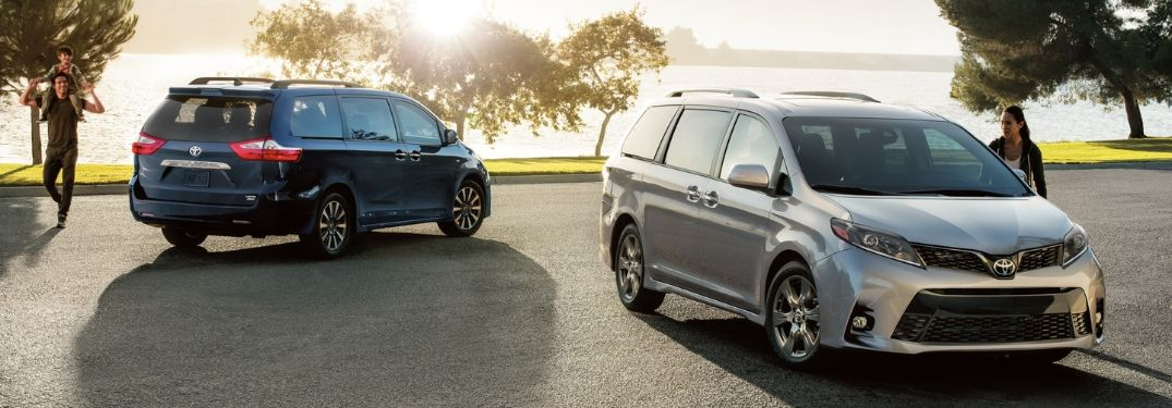 View All Nine Exterior Color Options Offered on the 2020 Toyota Sienna