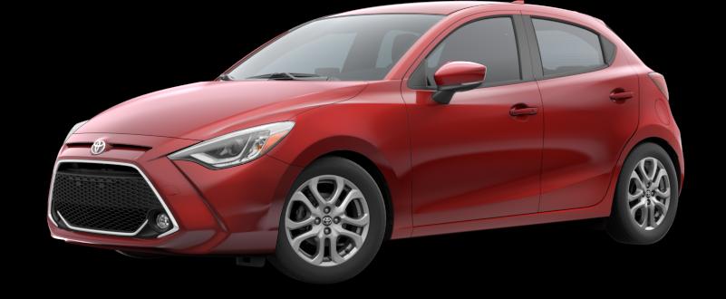 2020 Toyota Yaris in Pulse