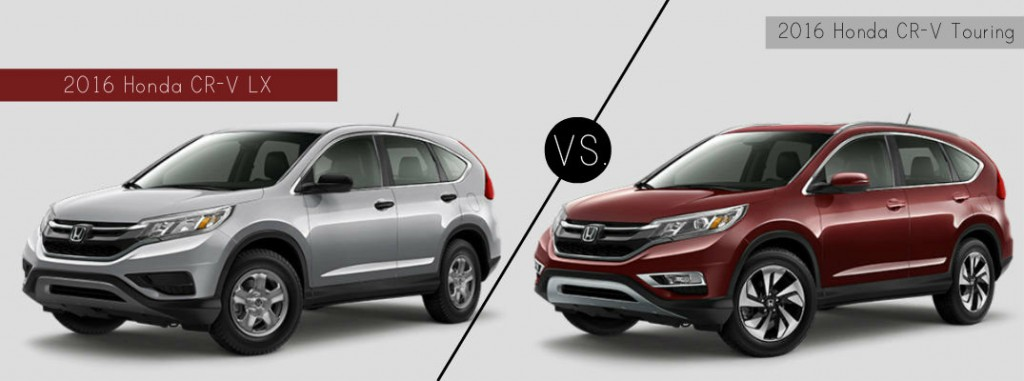 2016 Honda CR-V LX vs. Touring