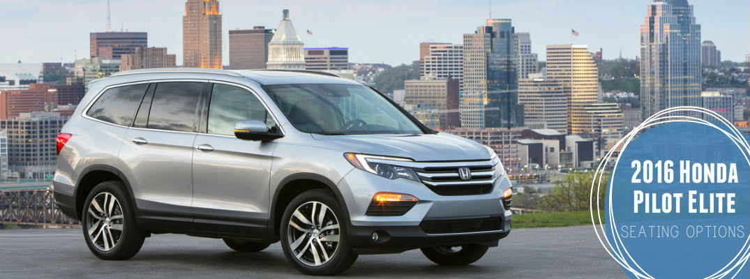 2017 Honda Pilot Elite Seating