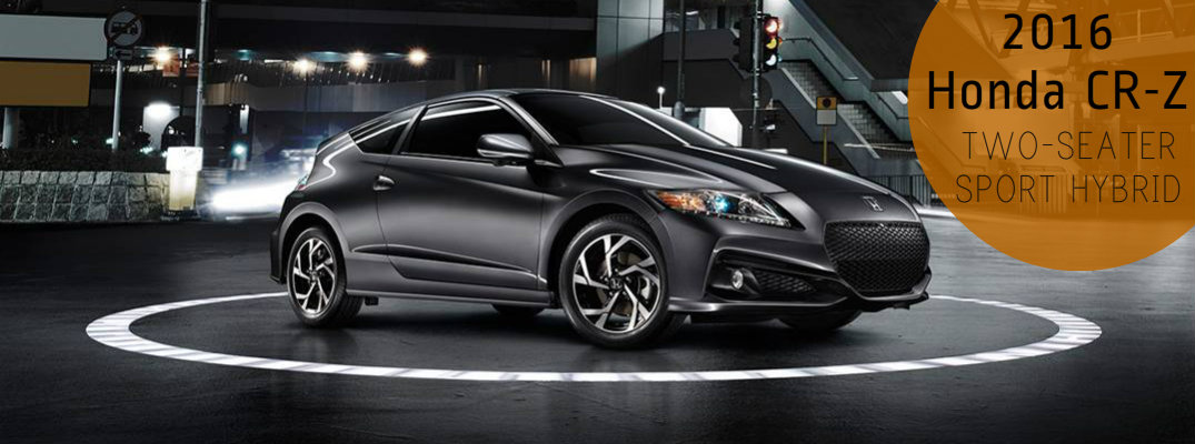 Does the Honda CR-Z have back seats?