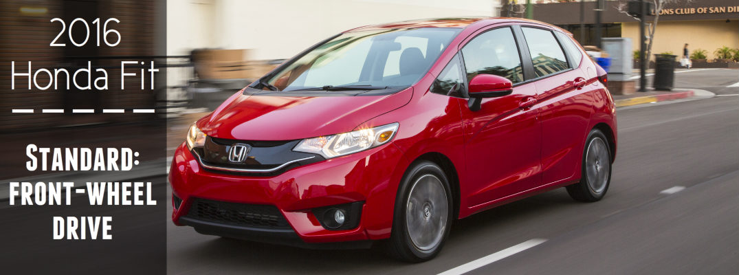 does the honda fit have all wheel drive. Black Bedroom Furniture Sets. Home Design Ideas
