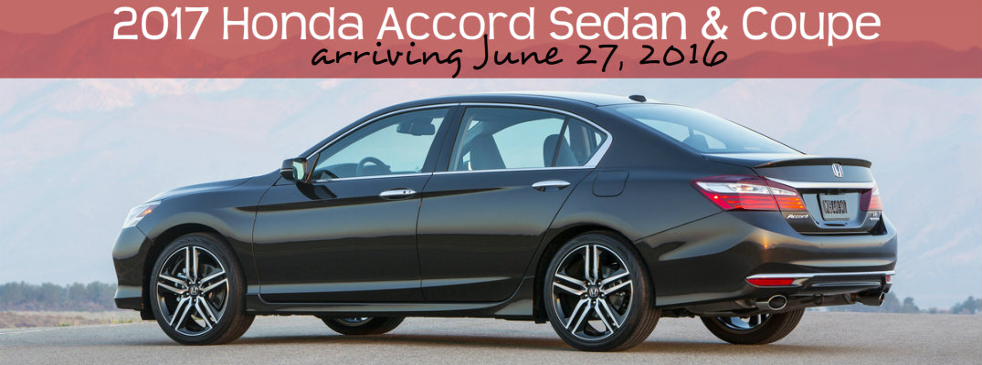 What is the release date of the 2017 honda accord for 2017 honda accord release date