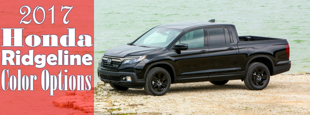 2017 Honda Ridgeline Color Options Garden State Honda Autos Post