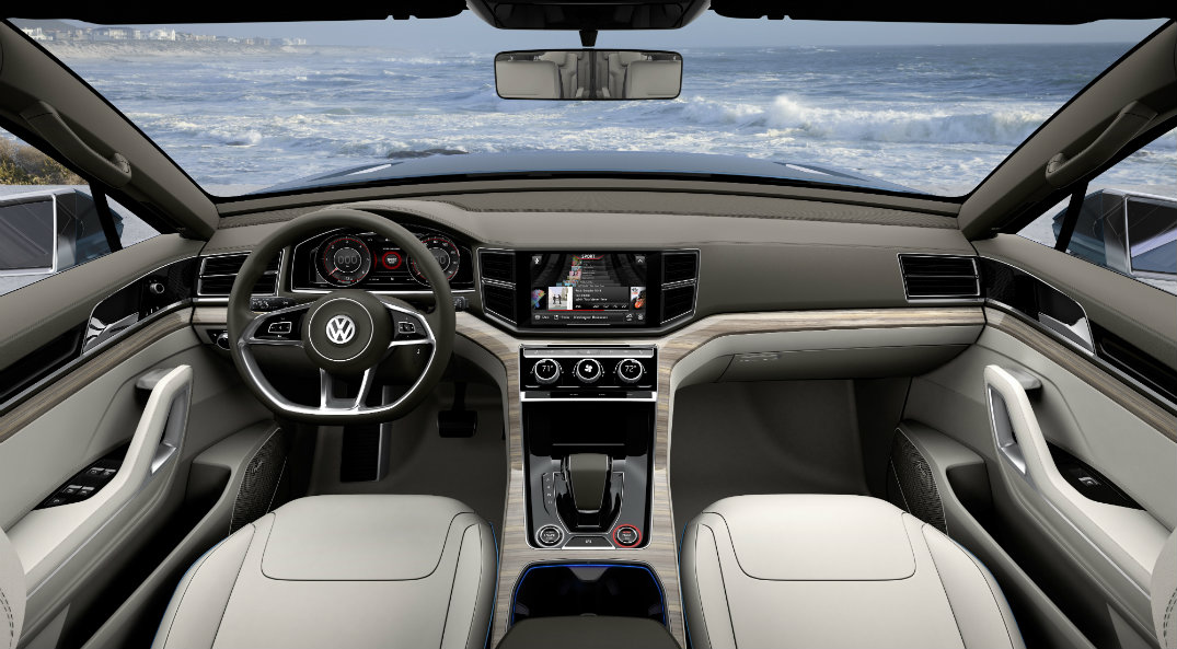New Volkswagen SUV Touchscreen Wood Leather
