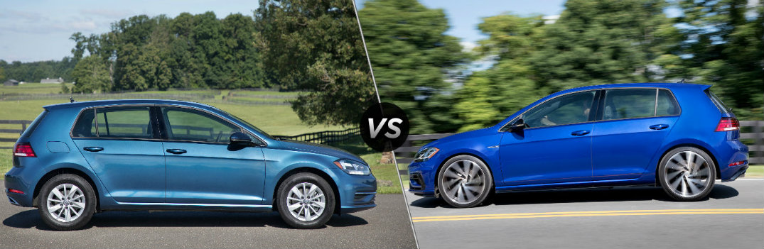 2018 Volkswagen Golf vs 2018 Volkswagen Golf R