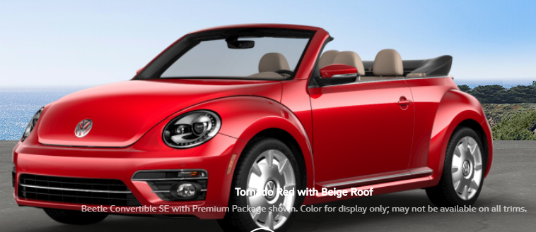 Vw Of Salem >> What are the Color Options for the 2018 VW Beetle Convertible?