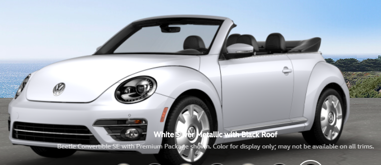 What Are The Color Options For The 2018 Vw Beetle Convertible